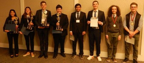 Senior Kelby Wittenberg with the other ISEF finalists and alternates.