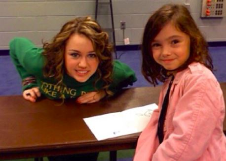 Senior Mia Litman's encounter with Miley Cyrus.