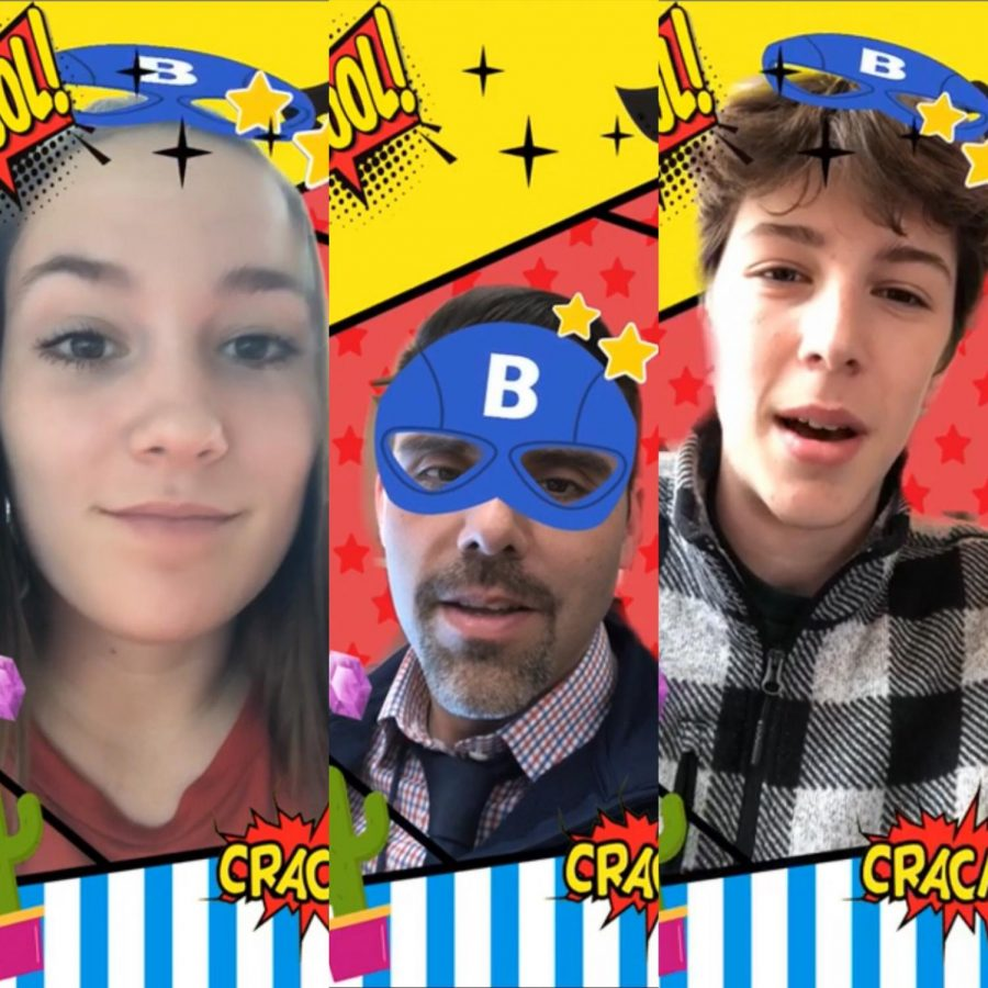 Students and faculty took to Snapchat, to share their favorite superhero with answers ranging from Spiderman to Thanos.