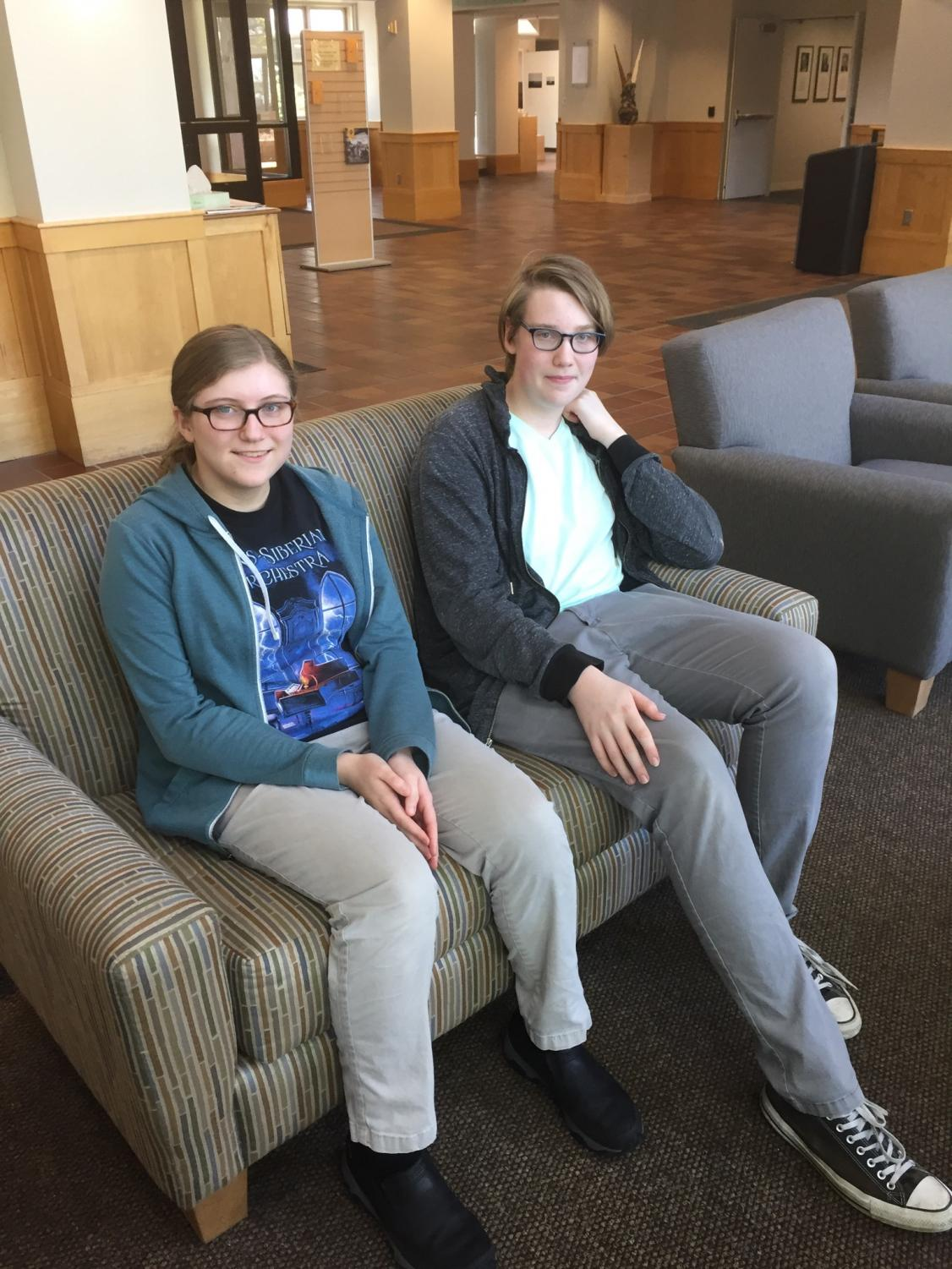 Junior Evan Barnes and sophomore Miranda Bance were elected co-chairs of SPA's Student Technology Committee.