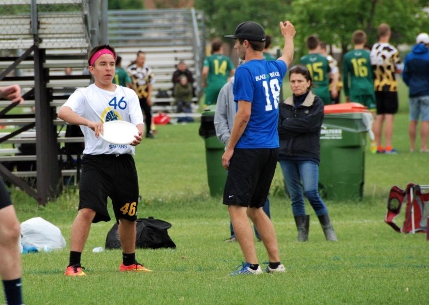 Gabe Ramirez decided Ultimate Frisbee was his game after playing in a 6th grade mini.