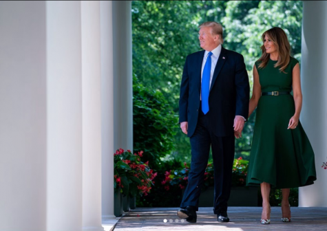 Trump hosted the 2019 iftar dinner alongside his wife, Melania Trump.