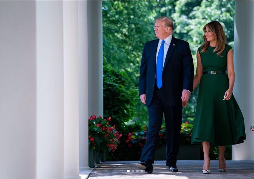 Trump+hosted+the+2019+iftar+dinner+alongside+his+wife%2C+Melania+Trump.