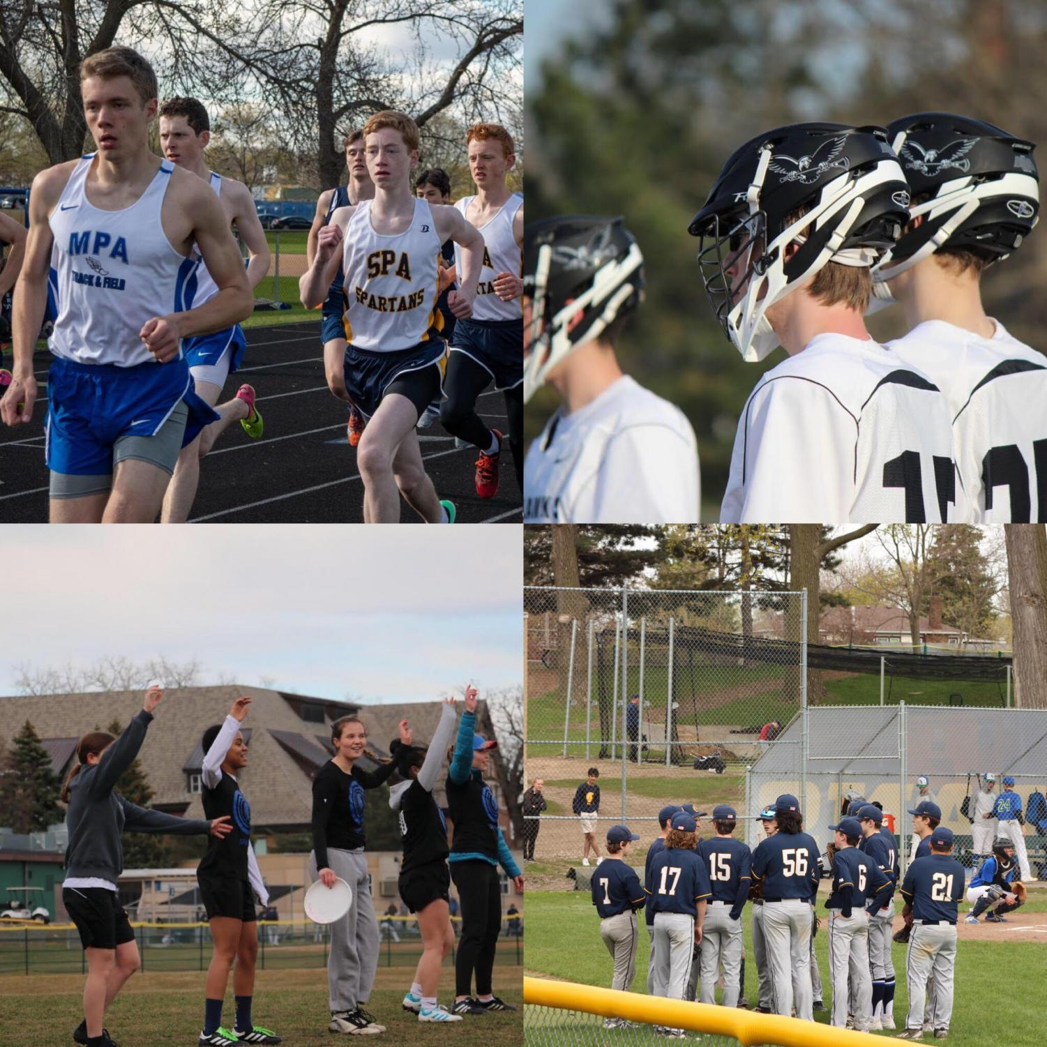 At the end of each sports season, teams play a section tournament in hopes of making it to state.