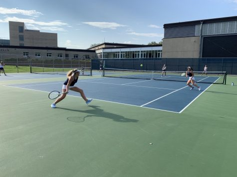 0-7: A striking defeat for Girls Varsity Tennis