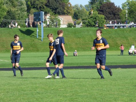 "The boys varsity soccer team defeated Trinity 4-0 last Saturday. ""Trinity was a pretty solid team, but we managed to put four goals past them and extend our win streak to four games. I think it highlighted a lot of good things for our team that we can continue to work going deeper into the season,"