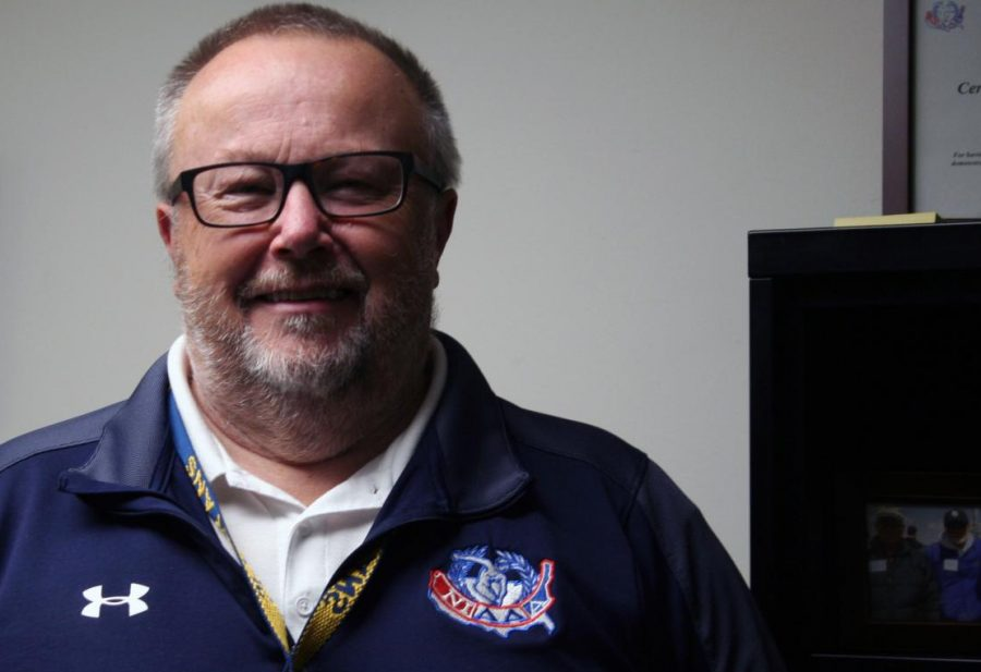 Interim US Athletic Director Rick Johns (pictured above) will spend the year at SPA during the search for Andrea Schmidt's replacement.