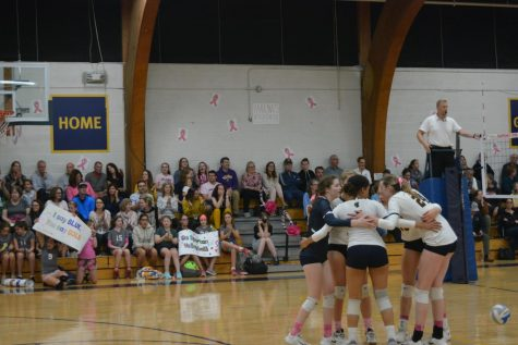 SPA Volleyball cruises against Breck