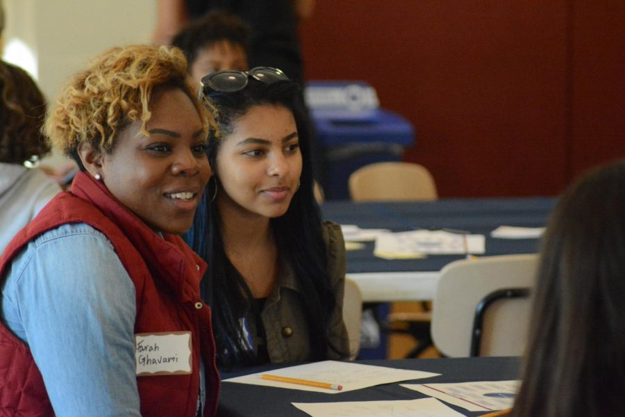 The gathering occurred on Oct. 26. Families set goals, talked about intercultural books, and shared experiences.