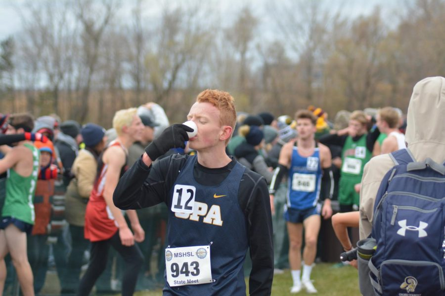 Junior+Michael+Moran+was+the+only+boy+on+the+team+to+make+it+to+state.+He+ran+the+5k+in+16+minutes+and+44+seconds%2C+which+placed+him+32+out+of+the+175+runners.+%22I+was+just+ready+to+have+a+good+race+and+I+did%2C%22+Moran+said.+