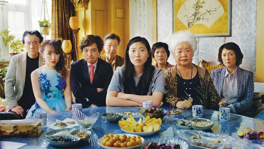 The Farewell, directed by Lulu Wang, is nominated for Best Feature at the Spirit Awards. Awkwafina won the Golden Globe for Actress in a Musical or Comedy Motion Picture for her role in the film. The Farewell did not receive any Oscar nominations.
