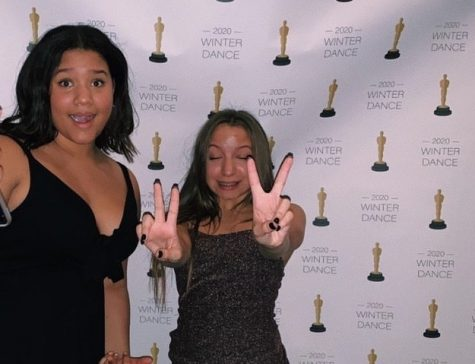 Upon entering the venue, a red carpet was set up for students as the publications editors from Ibid, Alessandra Costalonga and Mimi Longe, took paparazzi photos for them.