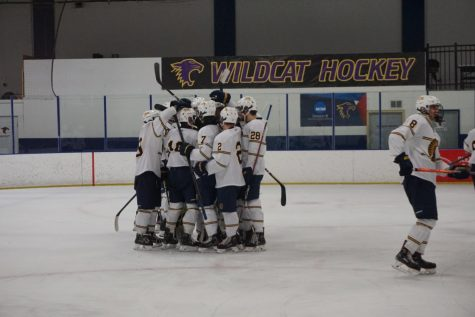 Boys Hockey beats Highland in their first section game with ease