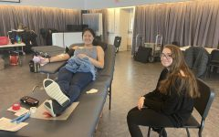 American Red Cross comforts first-time blood donors