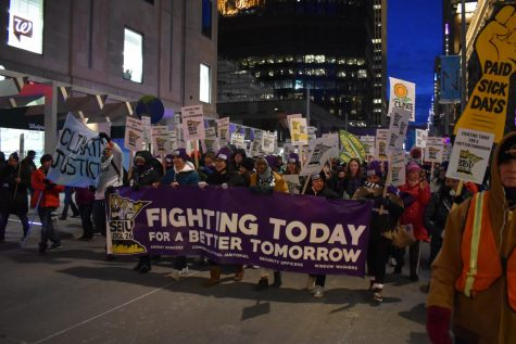 [BEHIND THE SCENES] Climate Strike & SEIU fight for family pay raises