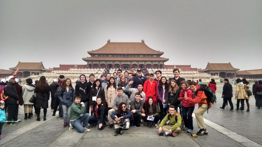 The trip was set to visit many landmarks and cities, including the capital in Beijing