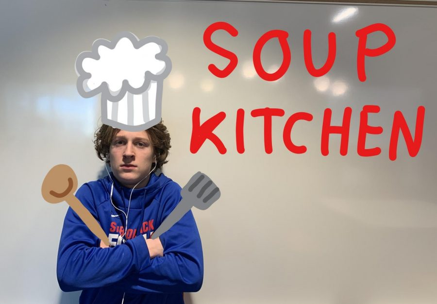 Sophomore Judah Thomas has been volunteering at a soup kitchen since this summer