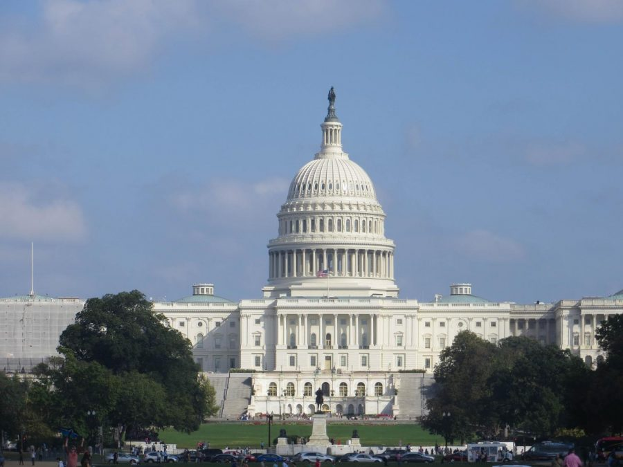 Lawmakers+rushed+back+to+Washington%2C+D.C.%2C+to+pass+the+largest+stimulus+bill+in+U.S.+history.