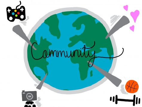During social distancing, what can we do to create a community?