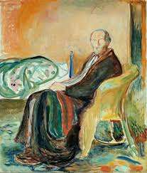 Edvard Munch, the Norwegian painter, contracted the Spanish Flu in 1919, used this experience as creative inspiration for a painting titled Self-Portrait with the Spanish Flu.