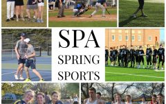 This is what SPA's spring sports usually look like. All photos featured can be found hyperlinked stories.