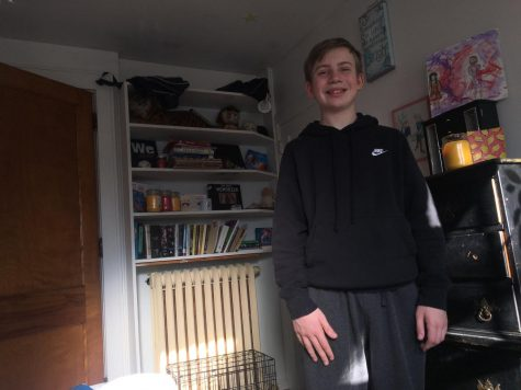 8th grader Anthony Ososki has been enjoying his quarantine by playing video games.