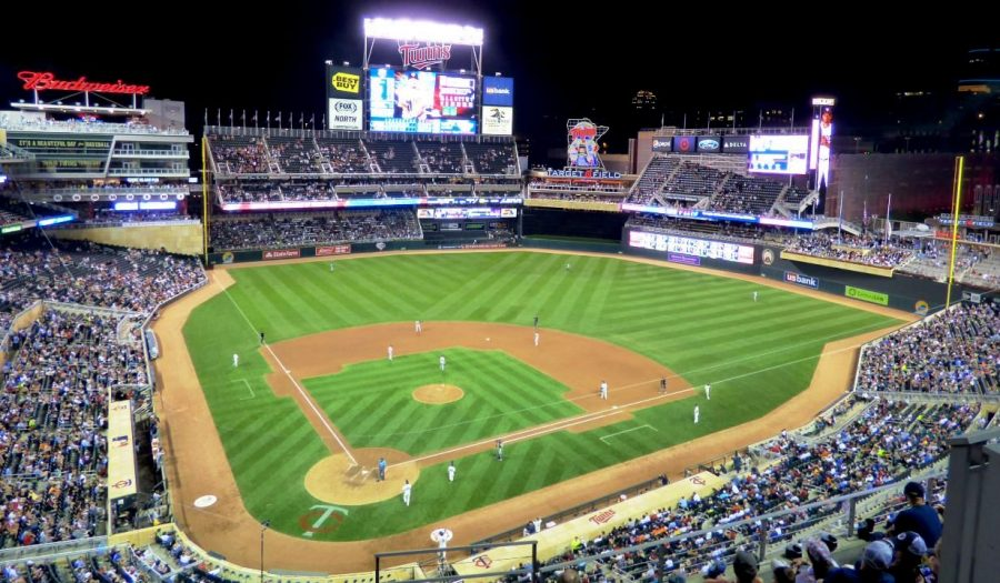 Target field was packed with fans in 2016.