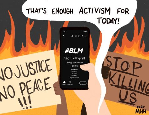 Use social media to support action, not to perform