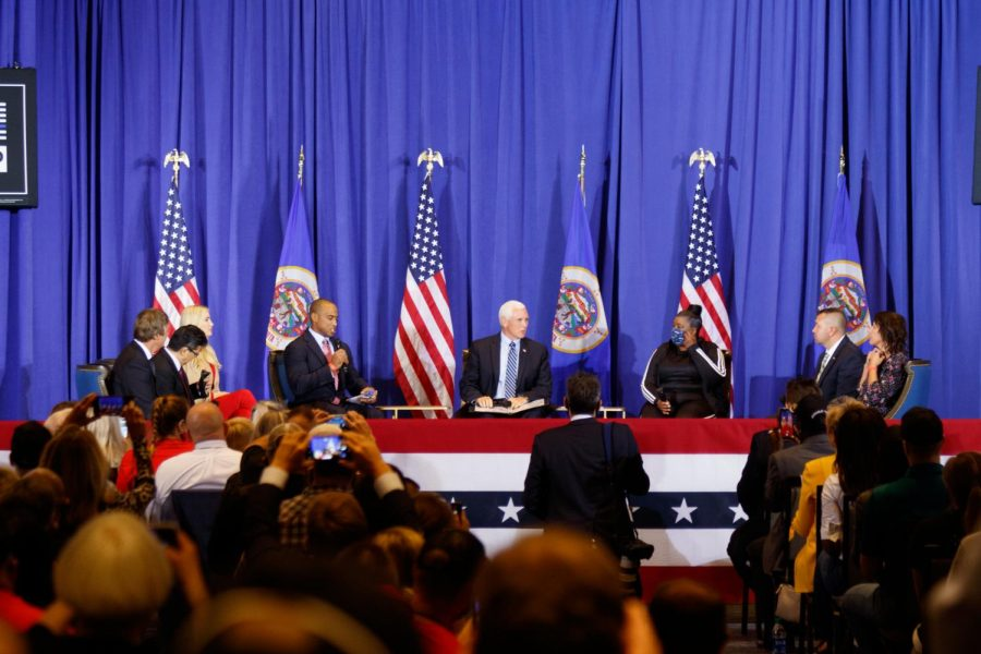 Vice President Mike Pence and multiple panelists discuss the ways in which President Trump will back law enforcement if reelected.