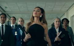 Grande's video depicted a very diverse depiction of the white house as she switches between shots of the oval office and a kitchen.