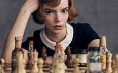 Anya Taylor-Joy plays Beth Harmon, a chess prodigy, in an unconventional rags to riches story that makes chess exciting.