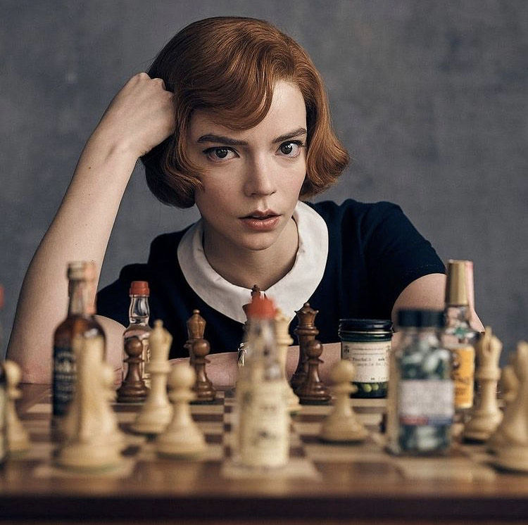 Anya+Taylor-Joy+plays+Beth+Harmon%2C+a+chess+prodigy%2C+in+an+unconventional+rags+to+riches+story+that+makes+chess+exciting.