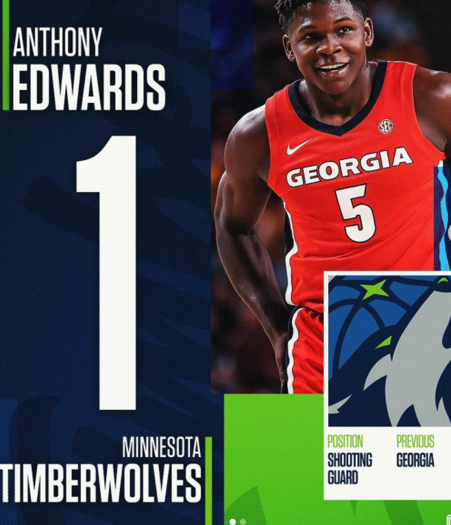 The Minnesota Timberwolves add player Anthony Edwards to their team, hoping he will give their team an advantage in the upcoming season.