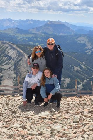 9th grader Charlotte Goings spends quality time traveling with her family.