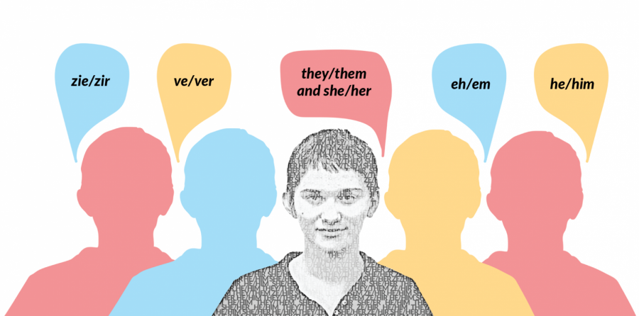 The rising use and acceptance of gender neutral pronouns has evolved over time.