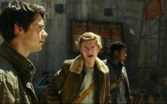 From a scene in the Maze Runner's movie, Thomas and Newt plan what to do next .