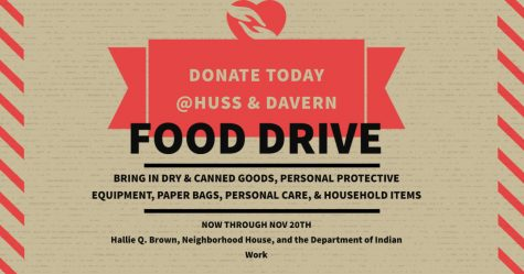 CAS will be collaborating with JCLC to host a food drive starting later this month.