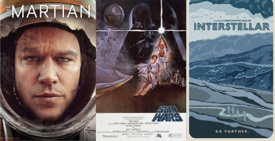 What do students look for in their space movies? Action, adventure, and a lot of sci-fi.