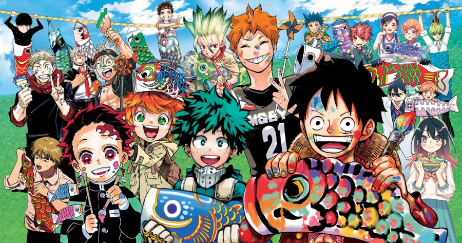 These are the protagonists featured in Shonen Jump, a weekly manga magazine.