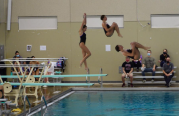 KK Welsh goes for a dive