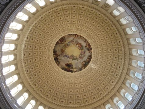 """The Apotheosis of Washington"" in the dome of the U.S. Capitol"
