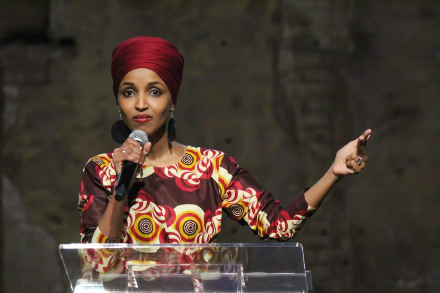 Rep.+Ilhan+Omar+%28D-MN5%29+speaks+at+her+re-election+campaign+kickoff+event+on+Jan+23%2C+2020.