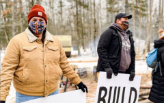 Environmentalist and Indigenous groups are legally fighting and protesting Line 3 every day in northern Minnesota.
