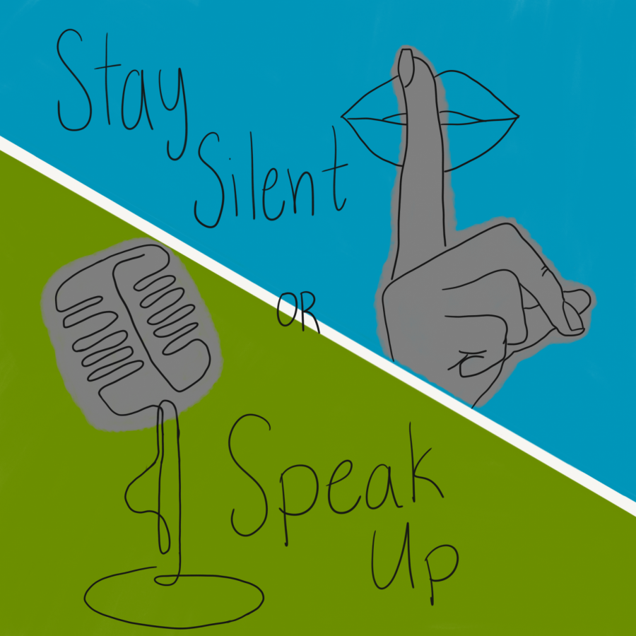 Sometimes it is better to stay silent, and other times it is important to recognize when your voice is needed in school discussion settings or even casual conversations.