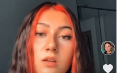 Charpentier is actively posting clips of her music and singing on TikTok.