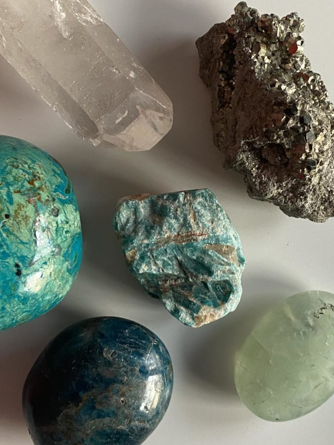 Whether crystals sit there to be pretty or are used for other healing purposes, they serve as a reminder to stay focused and to relax.