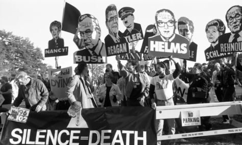 """How to Survive a Plague"" features many activists, including Peter Staley, Mark Harrington, and Bob Rafsky, who fought for research against the AIDS epidemic."
