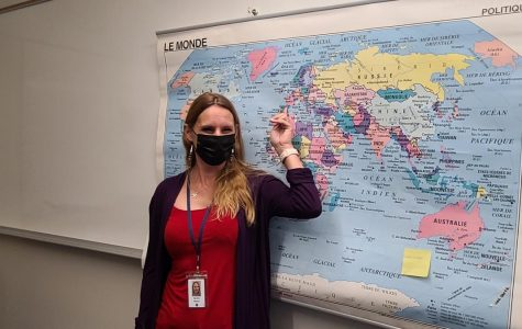 Sandra Nelson brings a global experience to the classroom