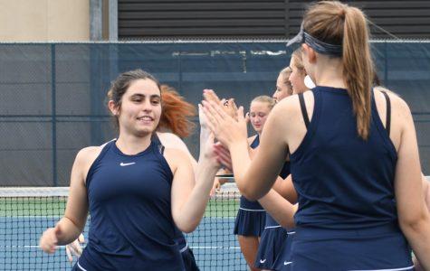 Spartan Girls Tennis enjoys pre-match bonding