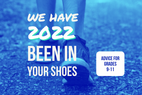 """Seniors learn from their 9-12 experience and use """"We have been in your shoes"""" to impart the wisdom they"""